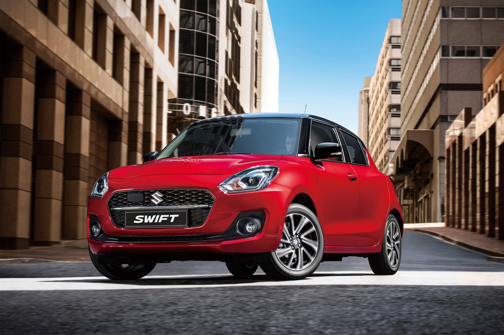 suzuki swift lifting