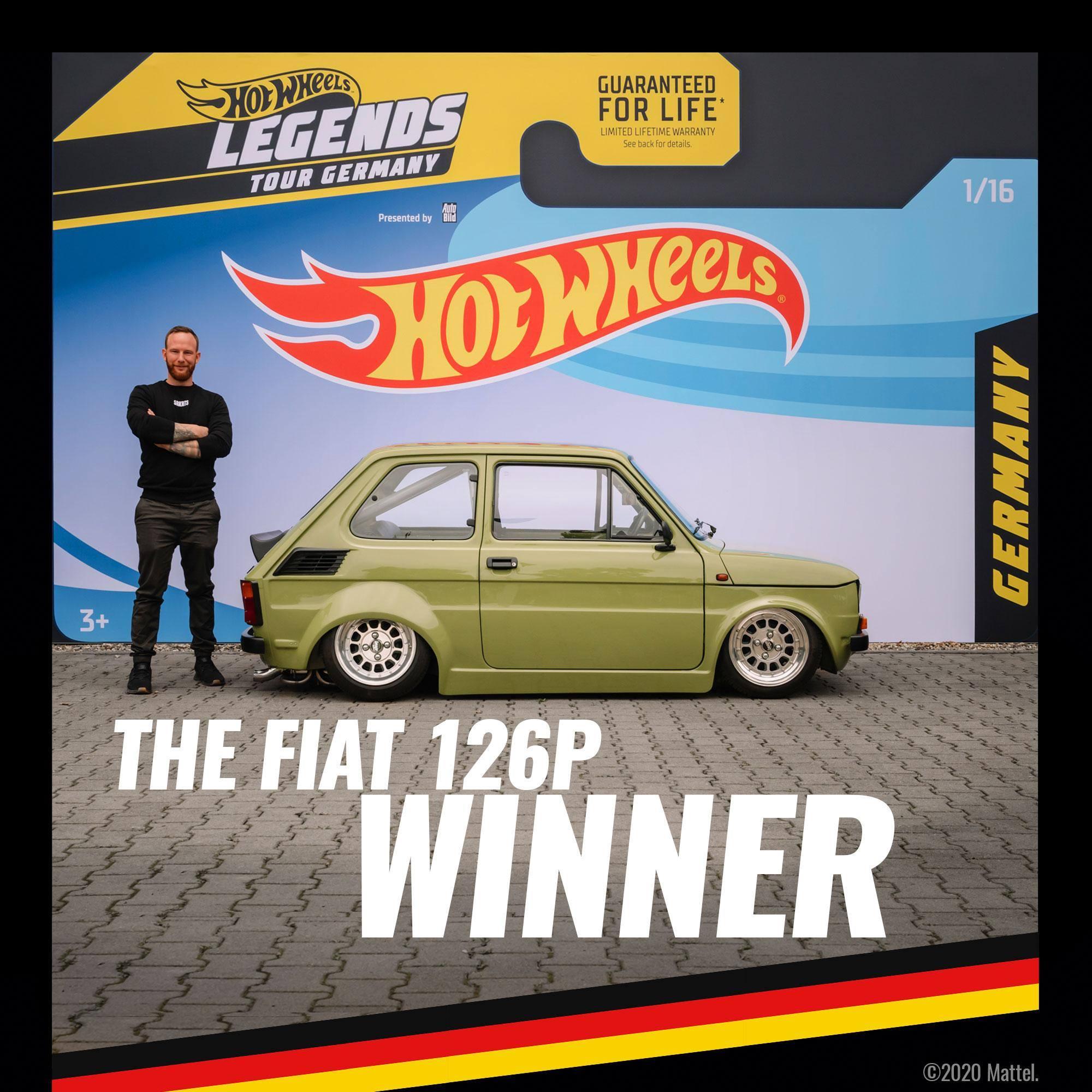 Fiat 126p Hot Wheels