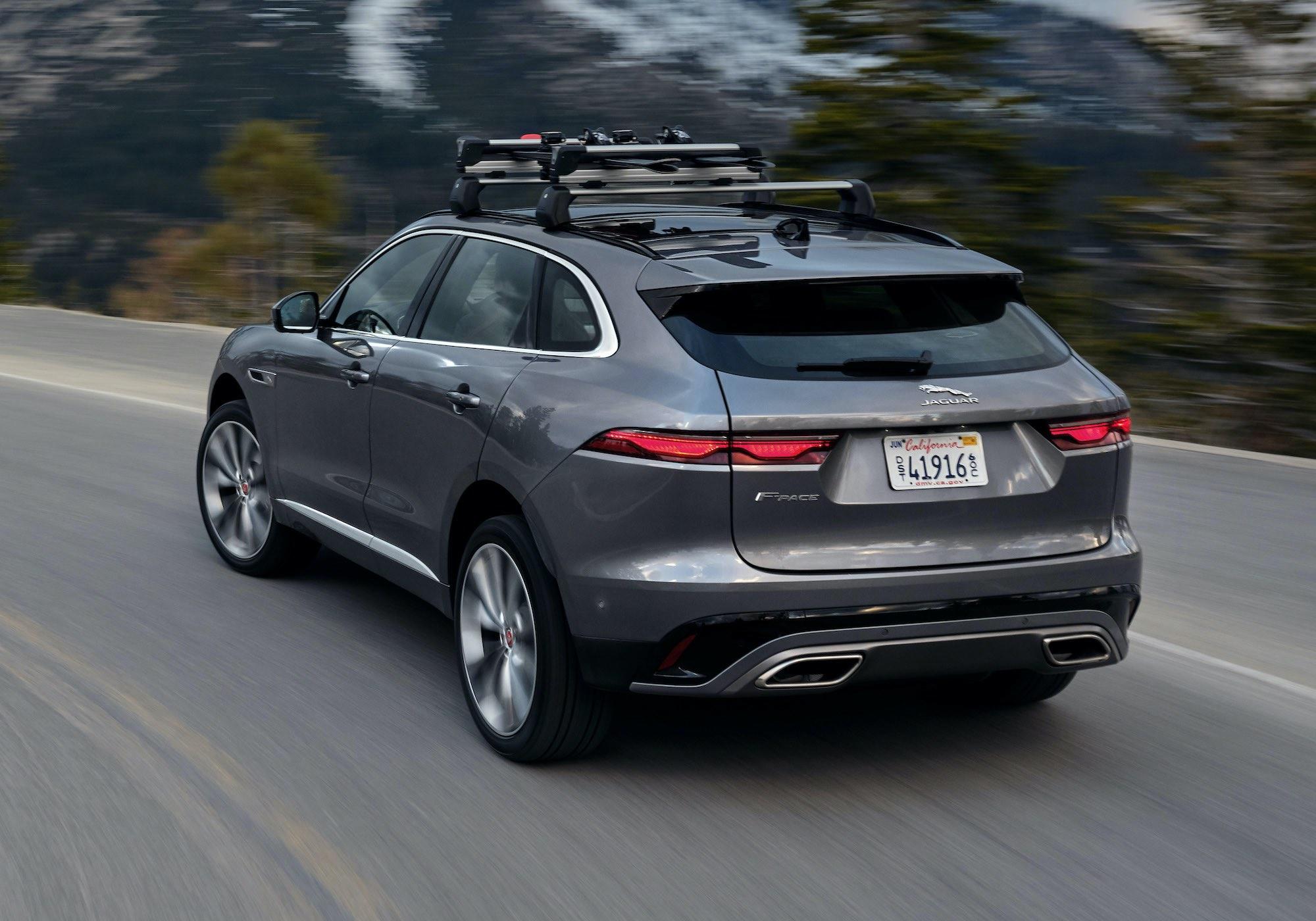 Jaguar F-Pace lifting