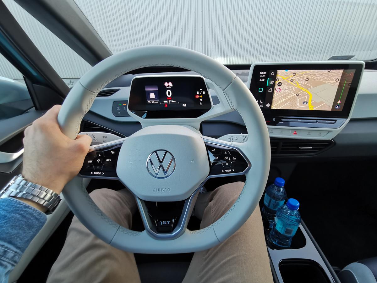 VW ID.3 pierwsza jazda