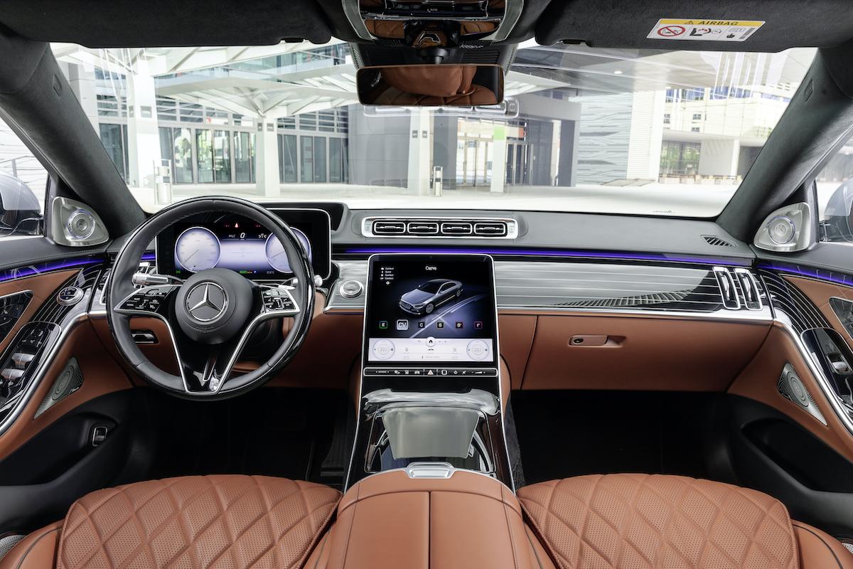 Mercedes klasy S premiera