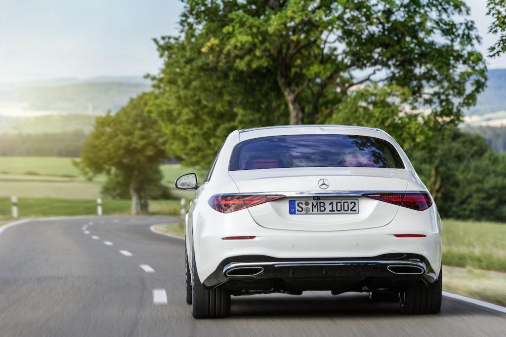Mercedes klasy S akcja serwisowa