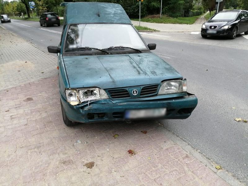 wypadek Olsztyn Polonez