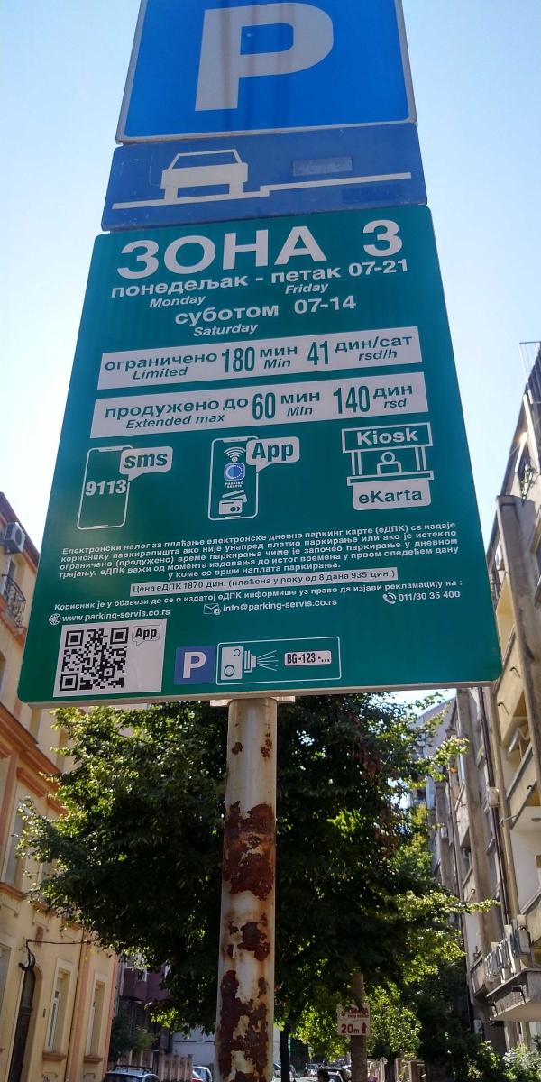 parkowanie Belgrad