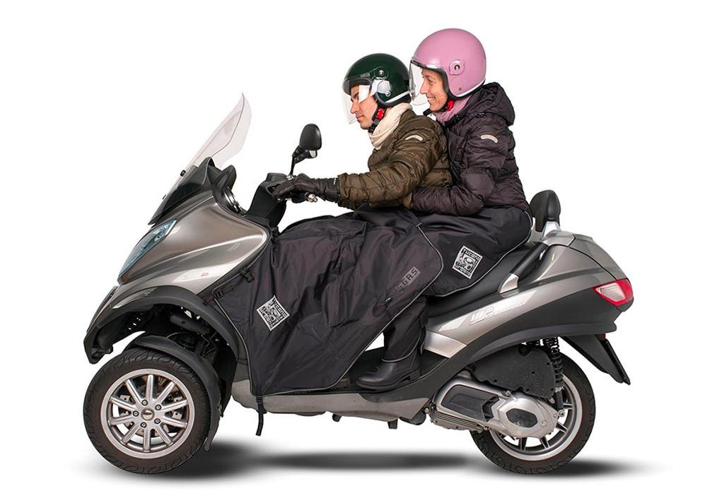 jak ubrać się na skuter zimą