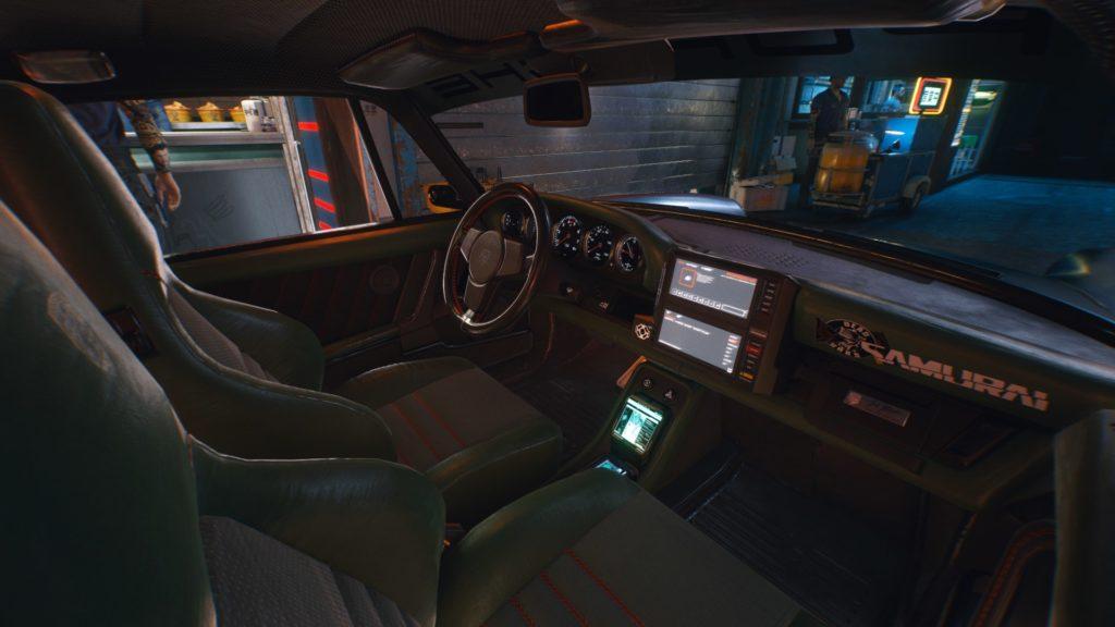 Cyberpunk 2077 samochody