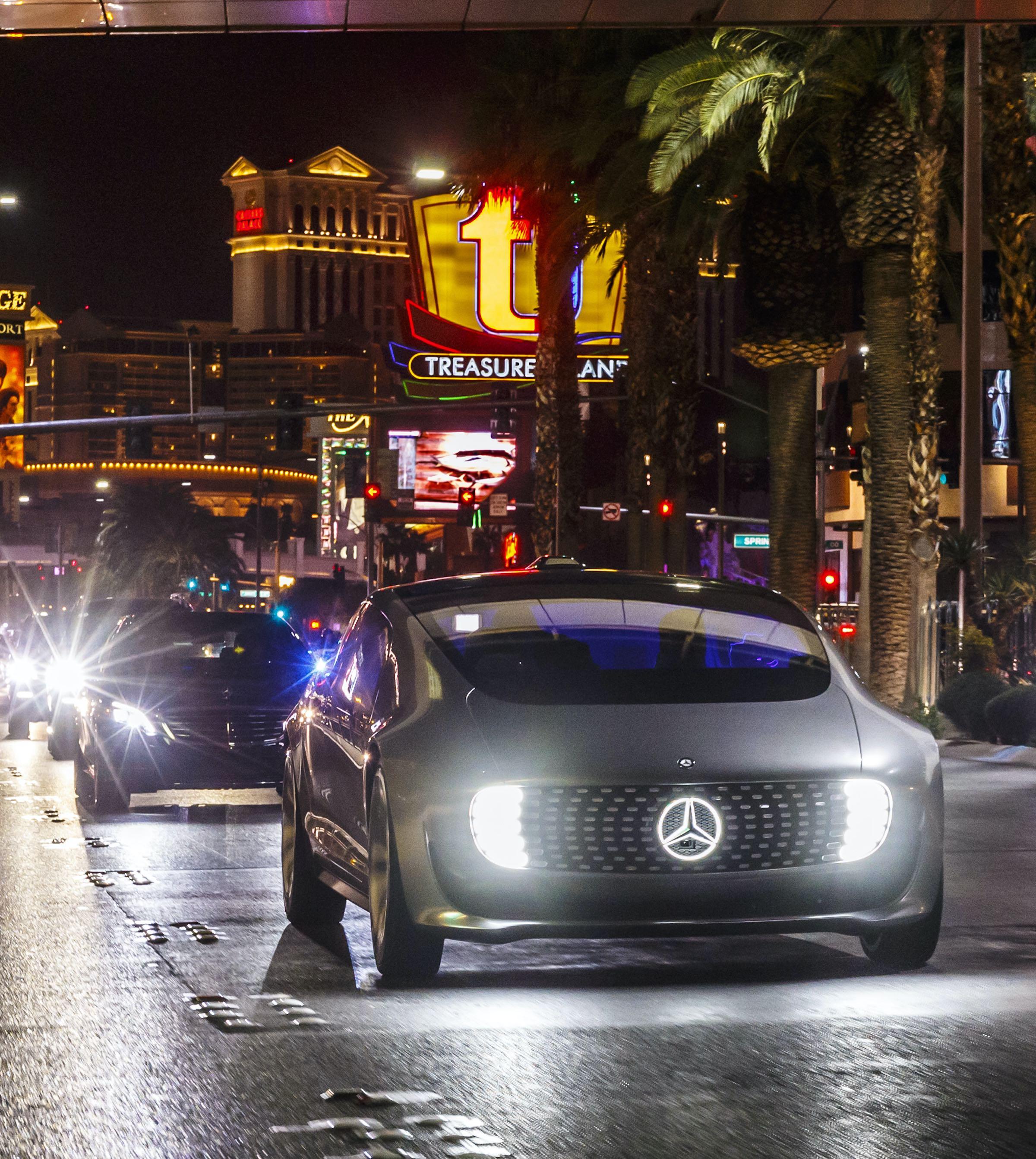 Mercedes samochody autonomiczne