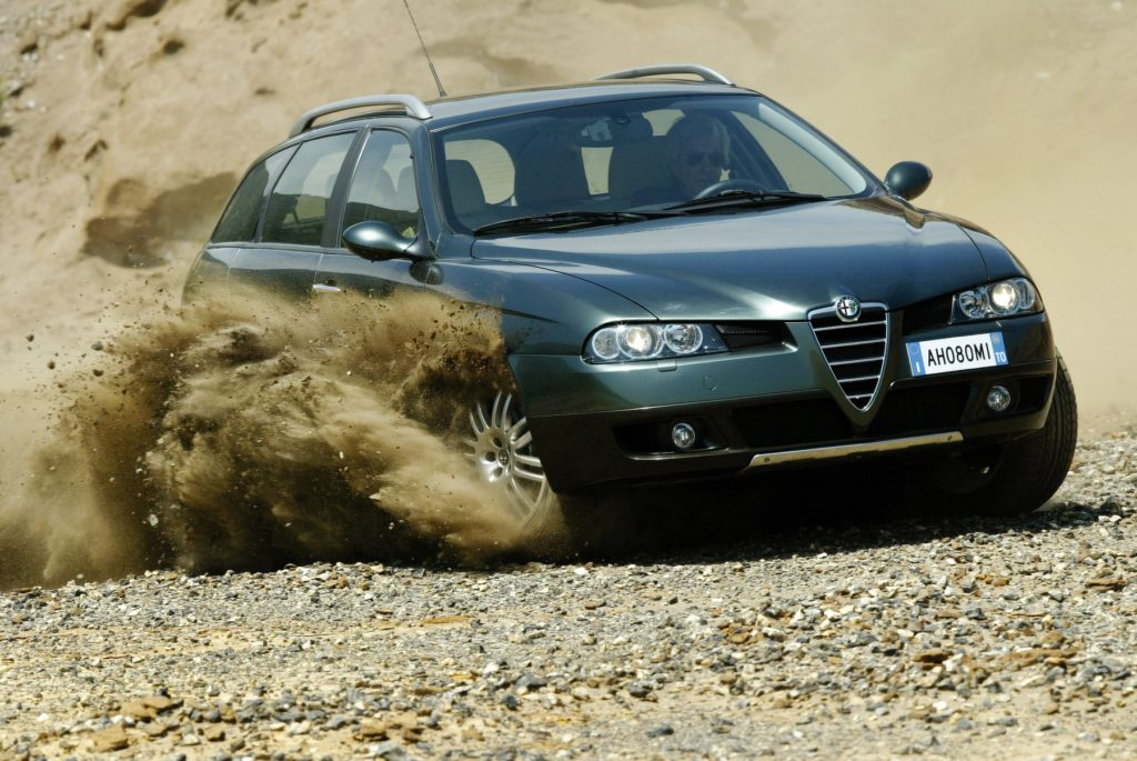 Alfa Romeo 156 Crosswagon awarie