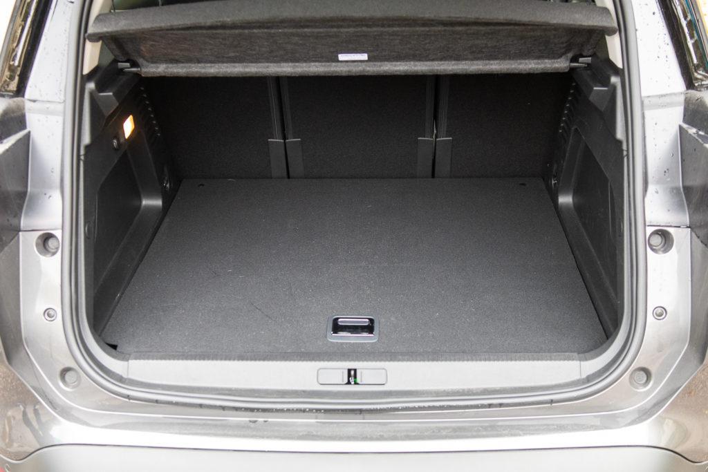 citroen c5 aircross hybrid pojemność bagażnika