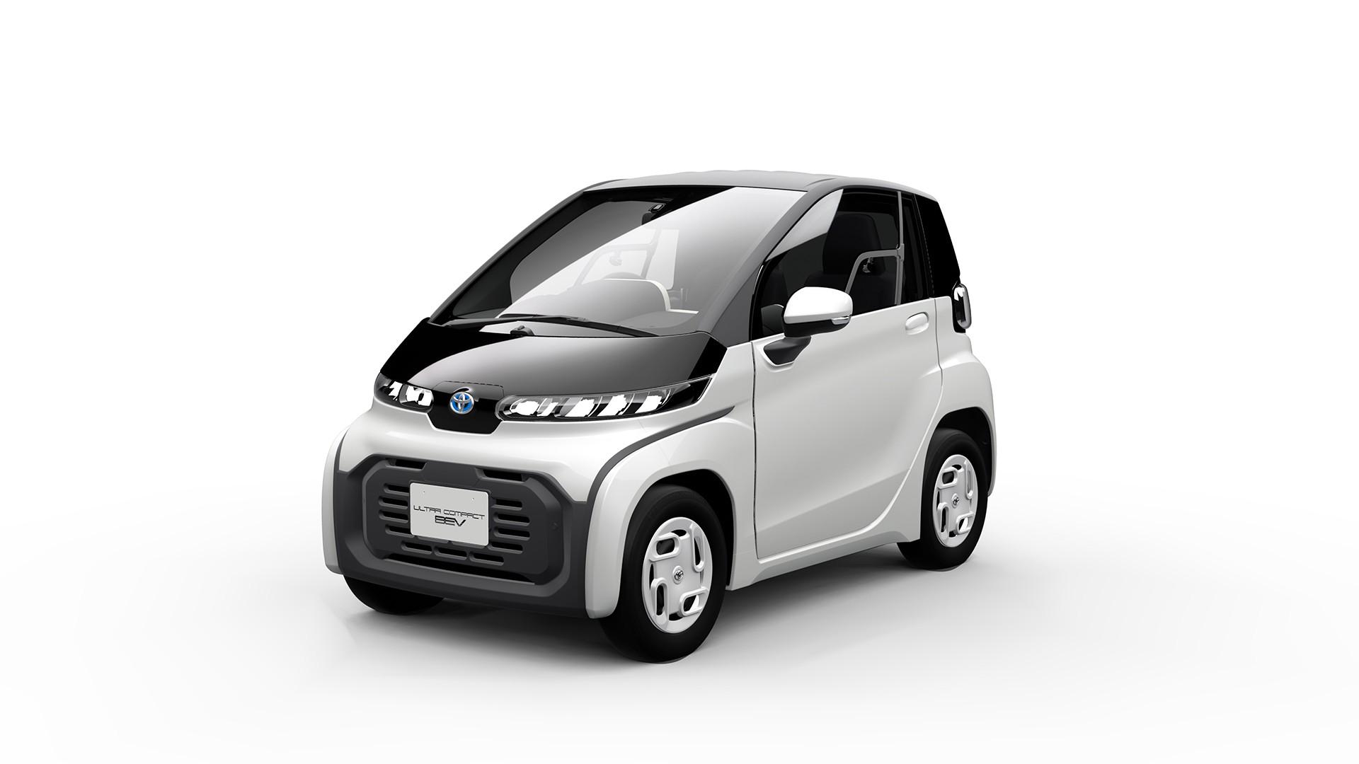 elektryczny model Toyoty
