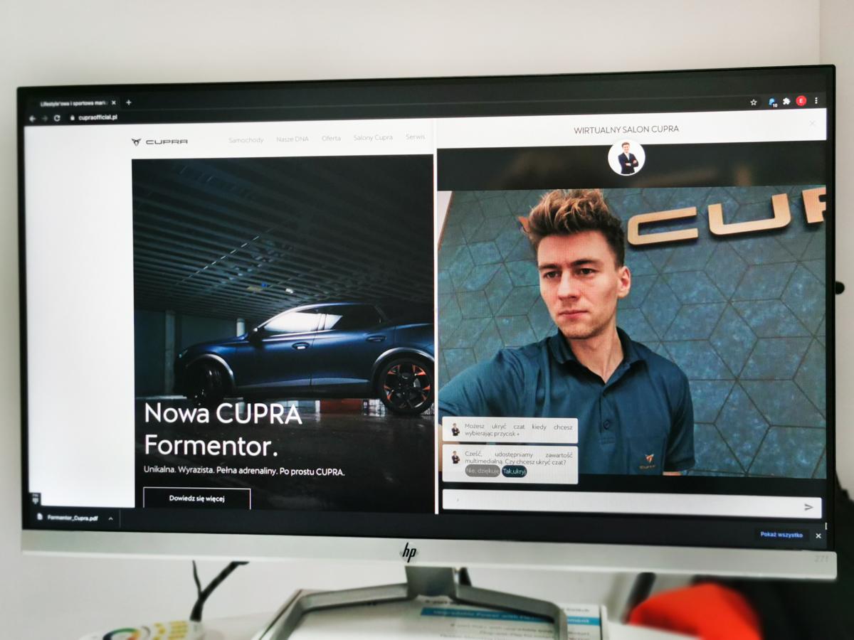 cupra wirtualny salon