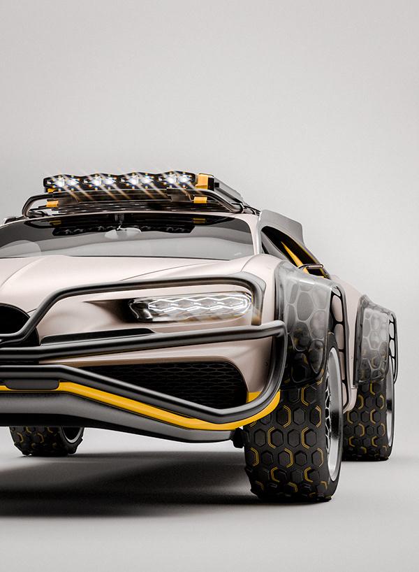 terenowe Bugatti Chiron
