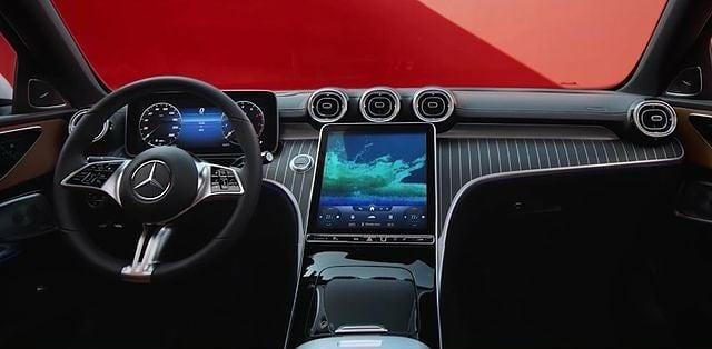 nowy Mercedes klasy C zdjęcia