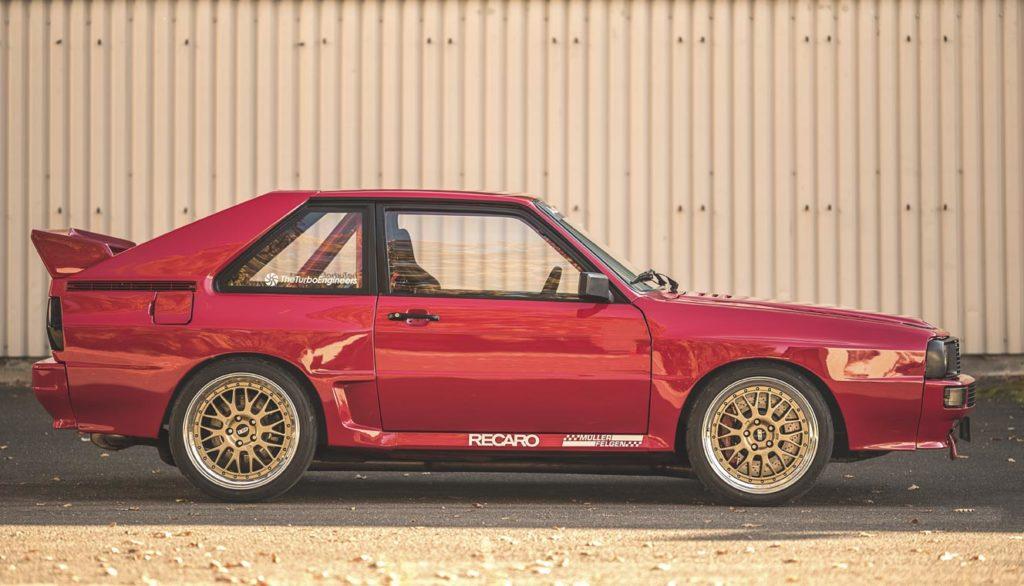 Audi Sport quattro restomod