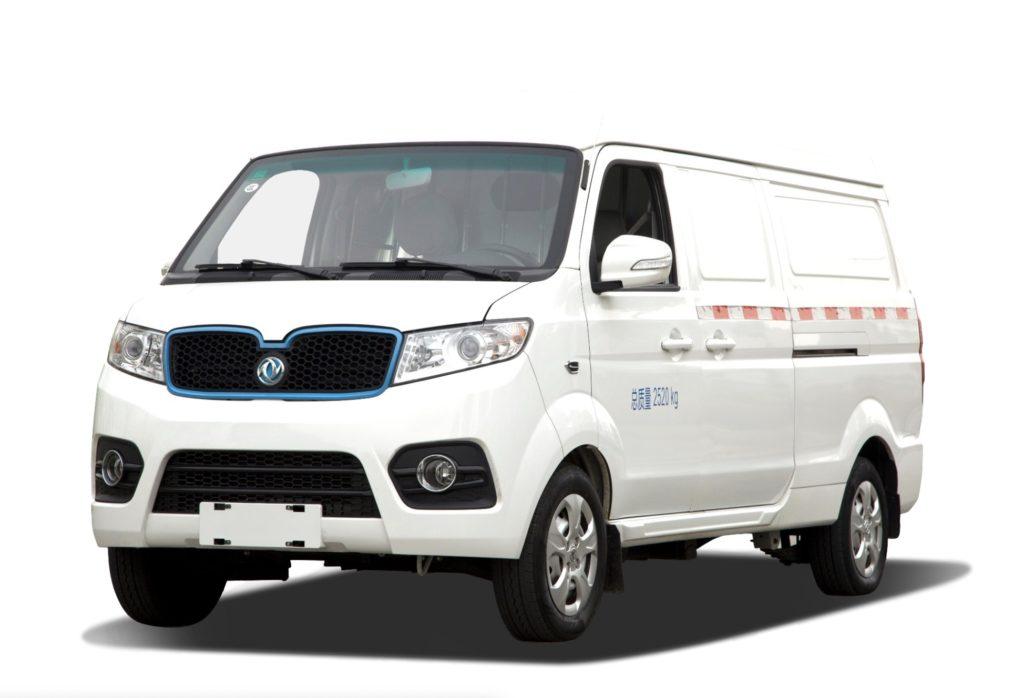 elektryczny samochód dostawczy dongfeng