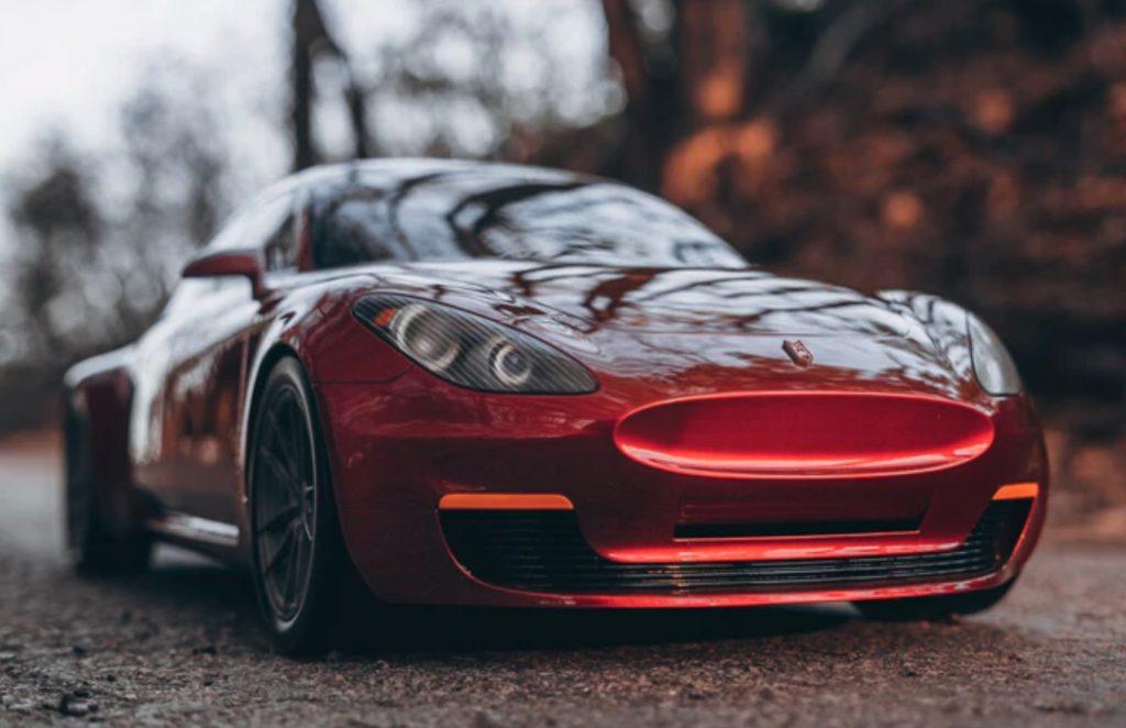 elektryczny samochód z Kanady