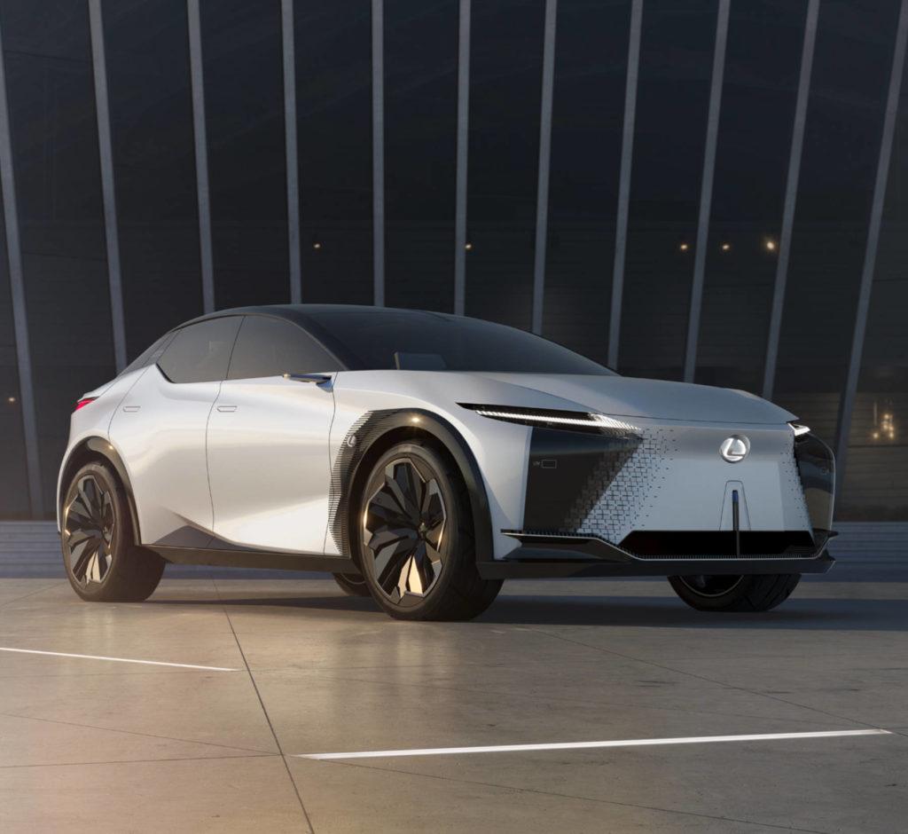 elektryczny Lexus LF-Z Electrified premiera
