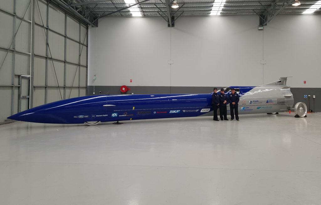 rekord prędkości na lądzie