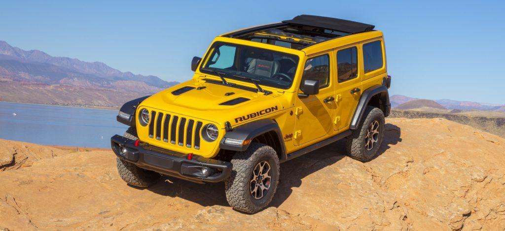 Jeep Wrangler silnik V6