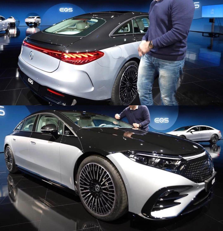 Mercedes EQS premiera