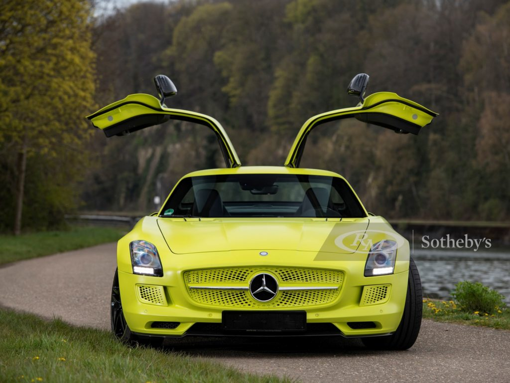 Mercedes SLS AMG Electric