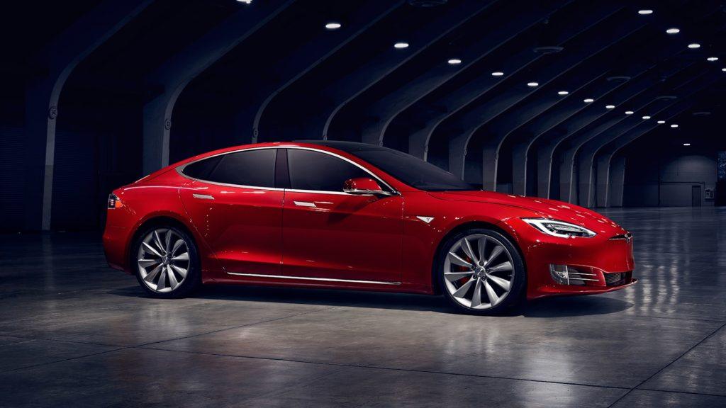 Tesla Model S wypadek