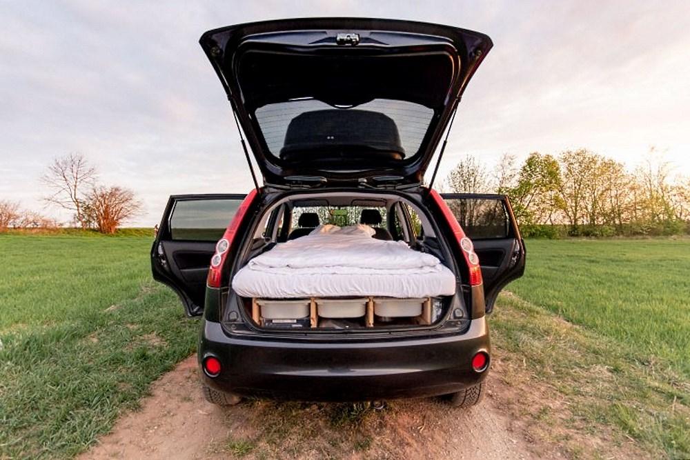 Ford Fiesta kamper
