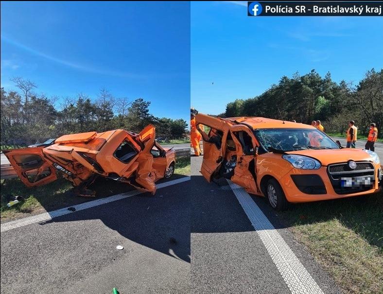 tesla autopilot wypadek słowacja