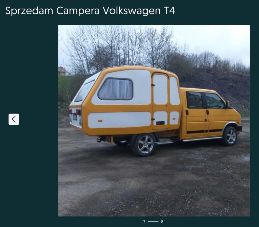 volkswagen t4 kamper konwersja