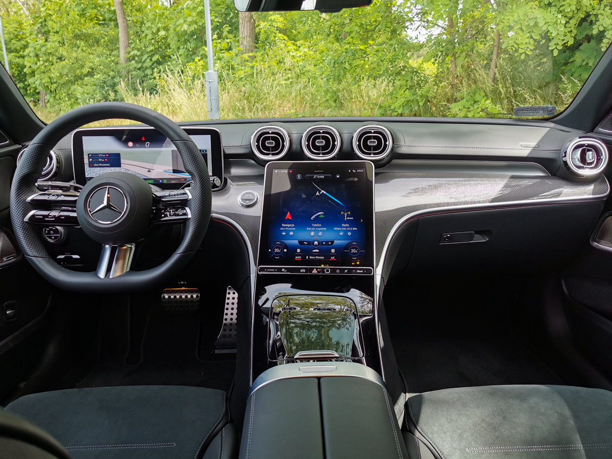 nowy mercedes c 220d