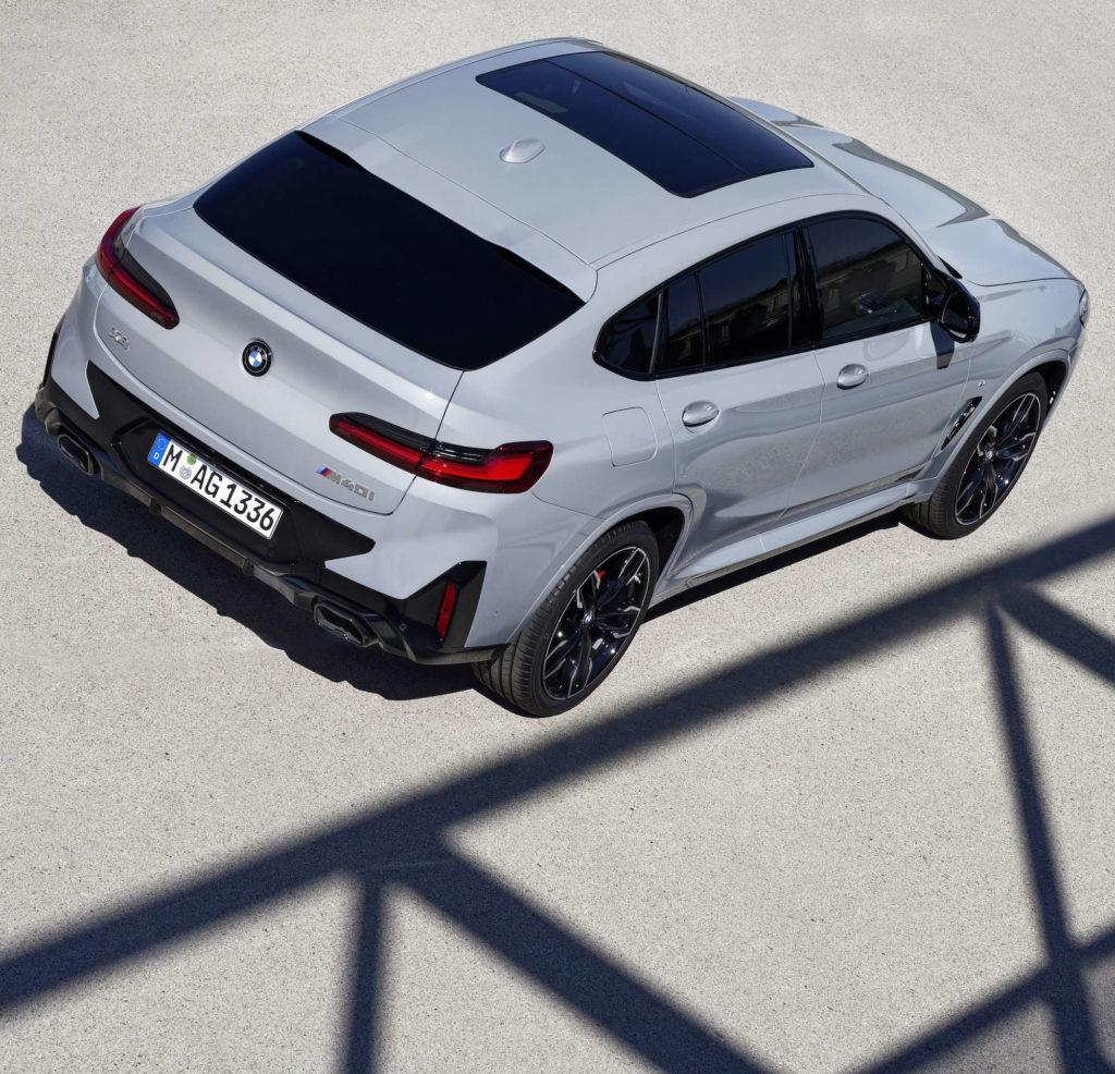 BMW X4 lifting