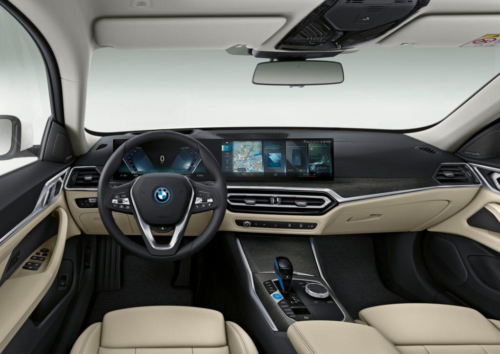 BMW serii lifting wnętrze