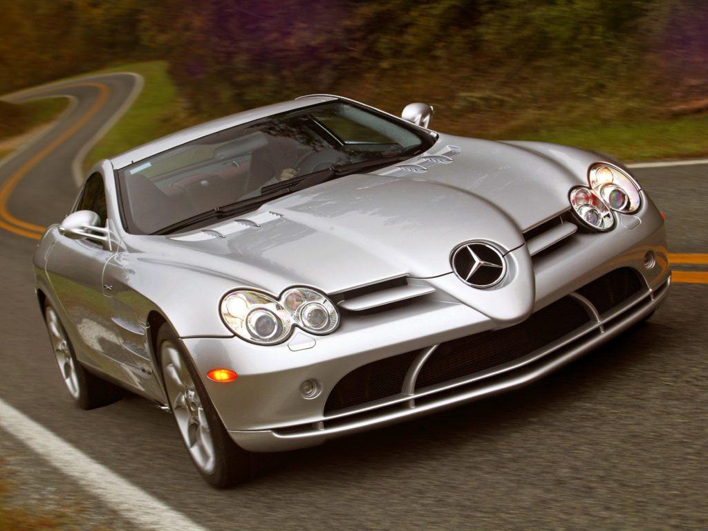 Mercedes SLR McLaren serwis