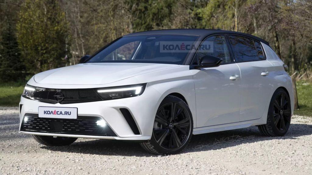 nowy Opel Astra L