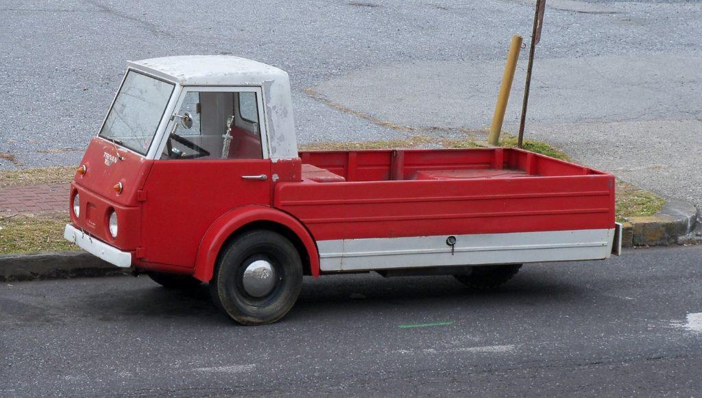 ciężarowy trójkołowiec Roustabout Trivan