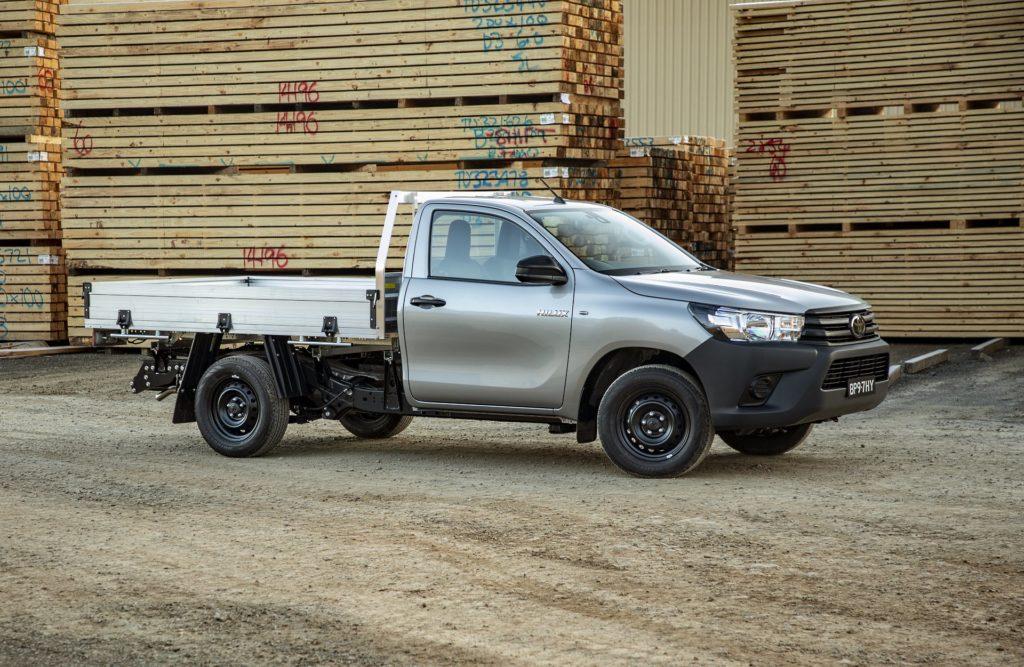 Toyota Hilux system namierzania
