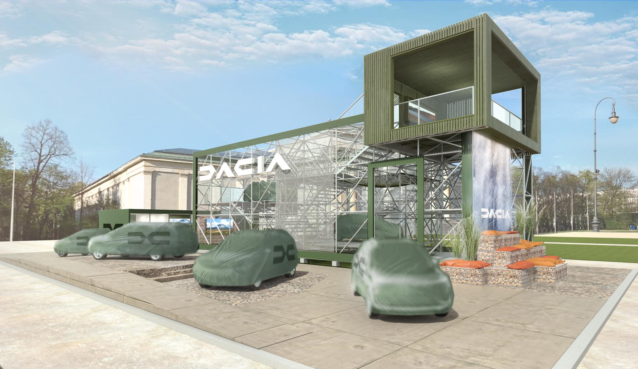 7-osobowa Dacia