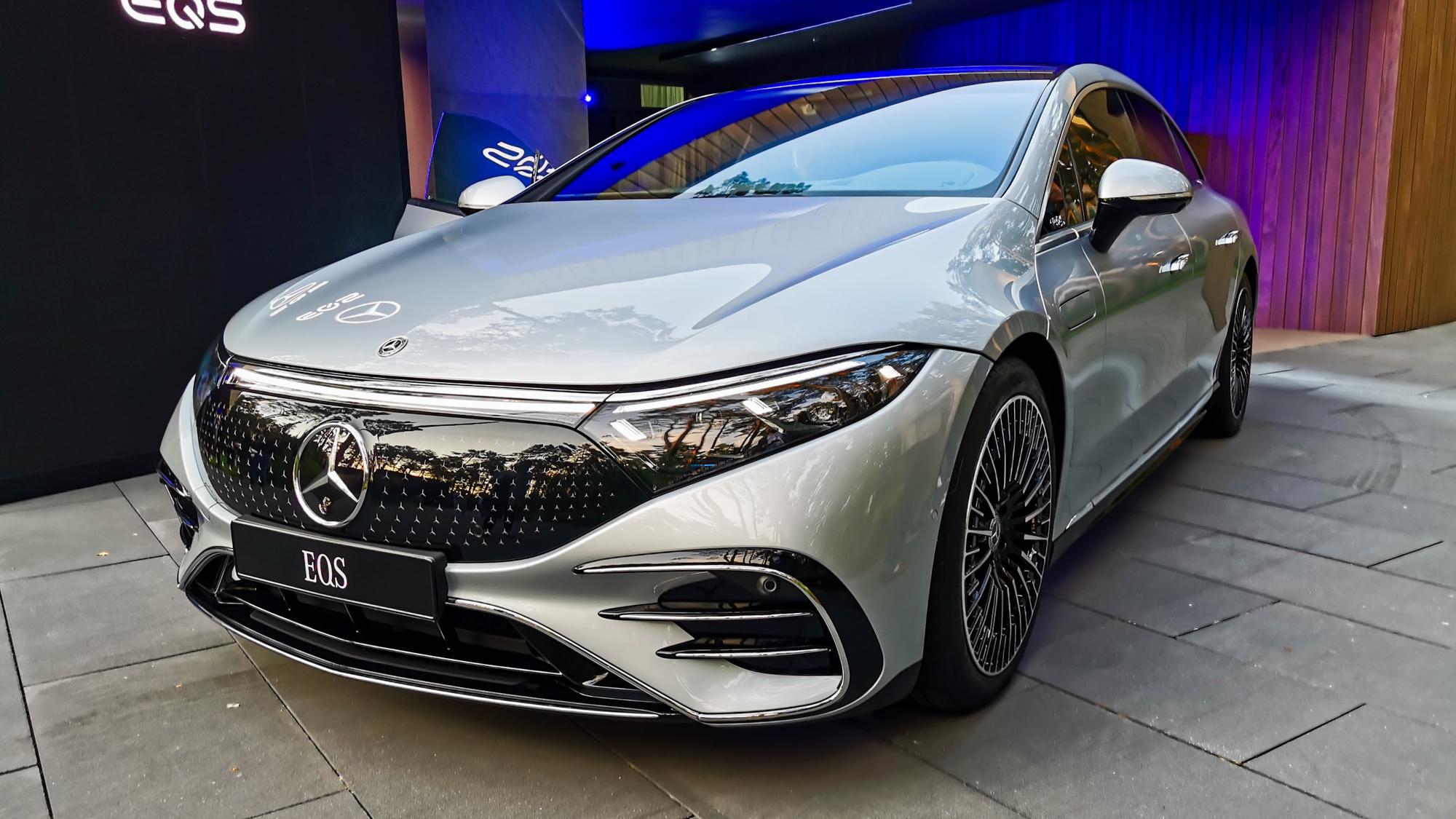 Mercedes EQS - premiera