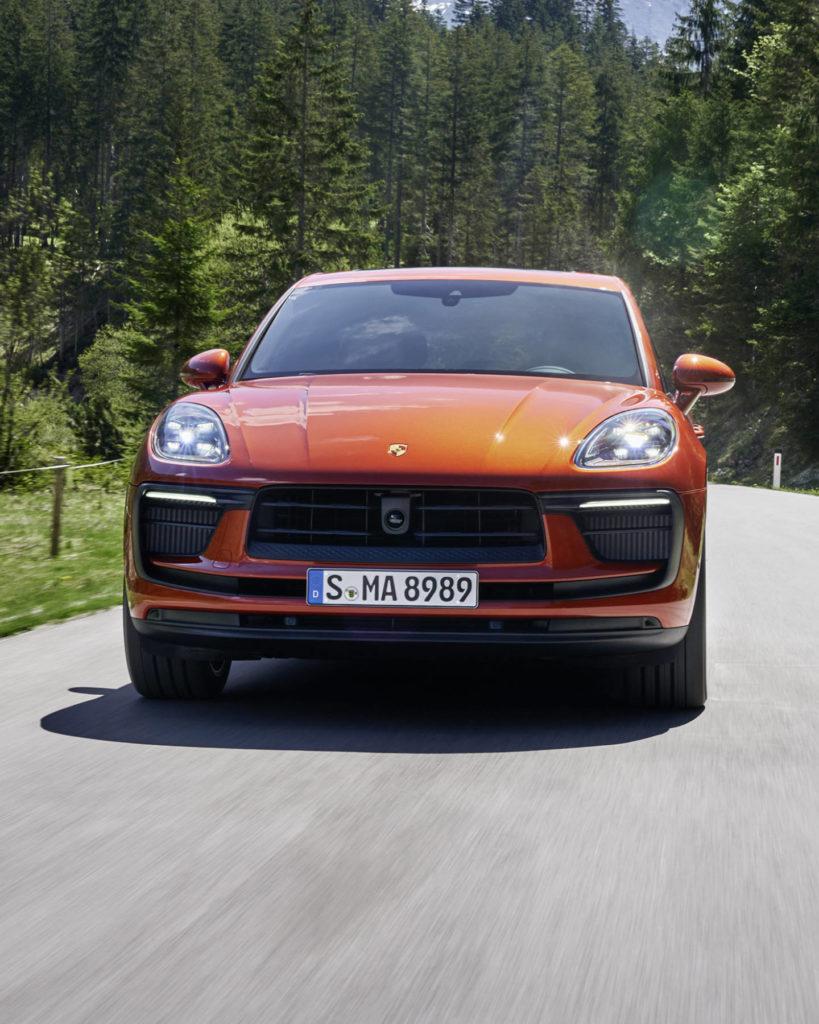 Porsche Macan lifting