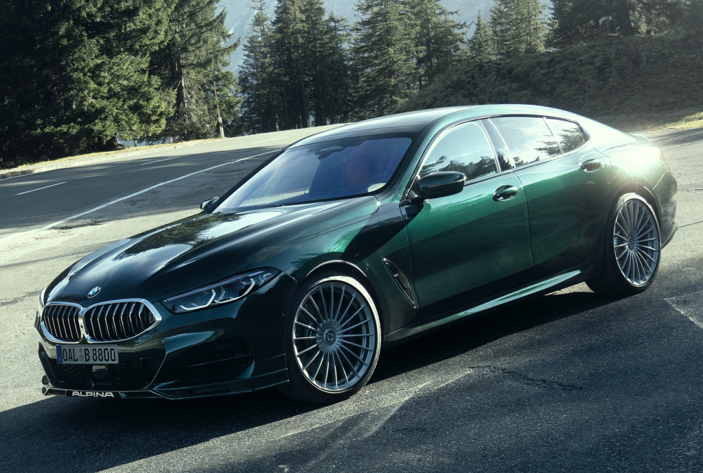 alpina samochody elektryczne
