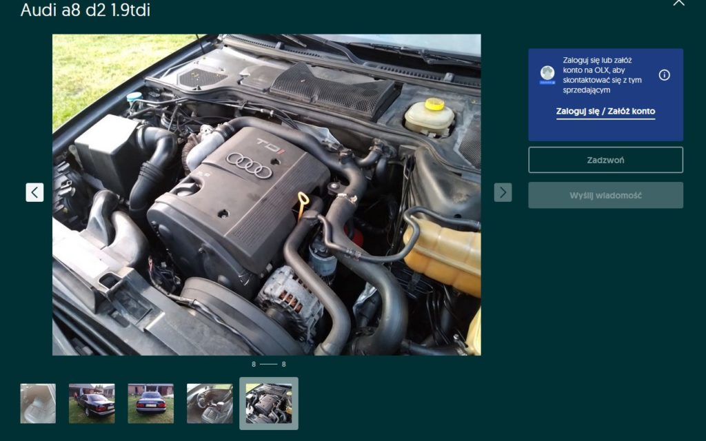 Audi A8 D2 TDI