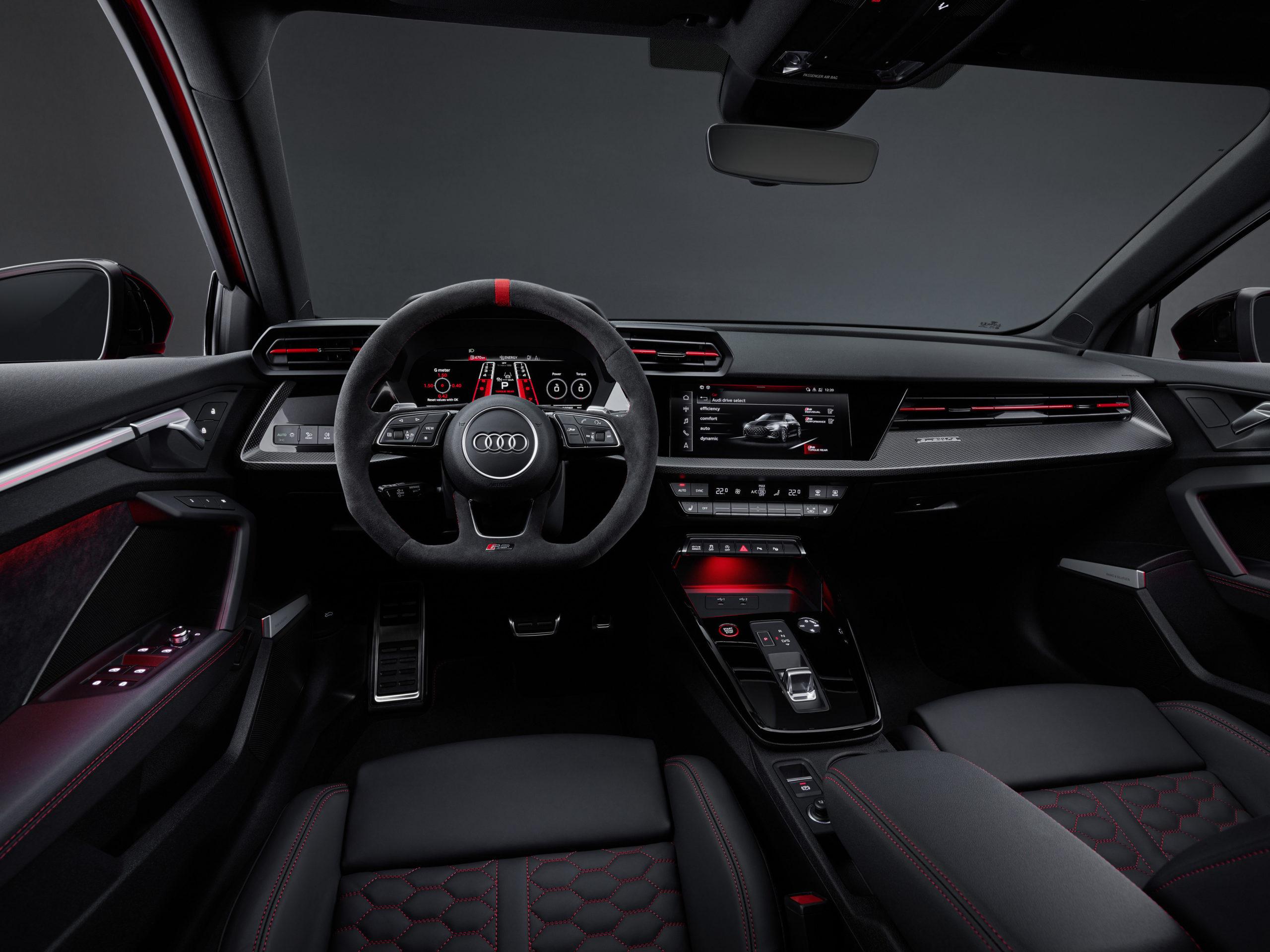 Nowe Audi RS 3 Sedan