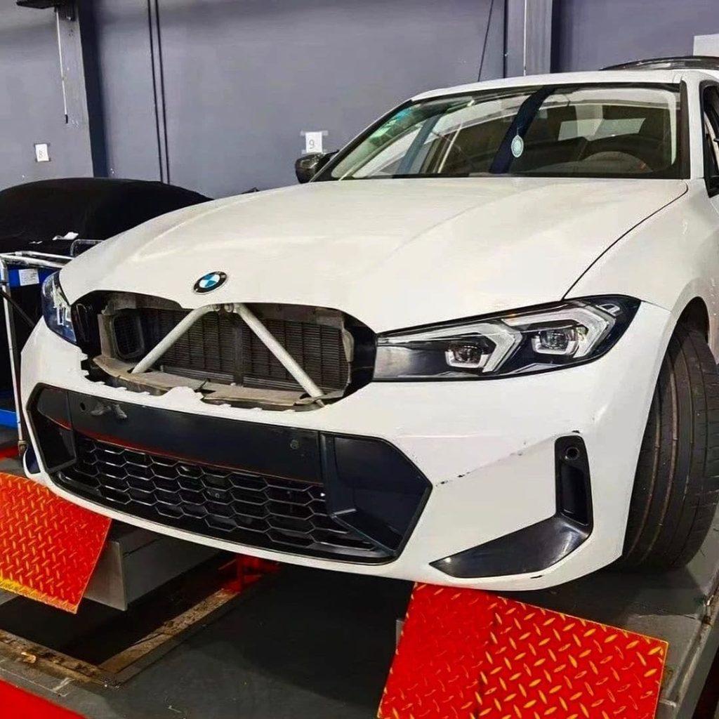 BMW serii 3 listing wyciek