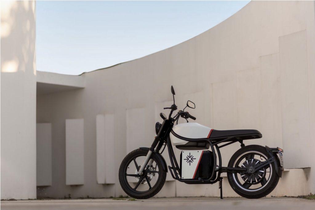 socjalistyczny motocykl elektryczny