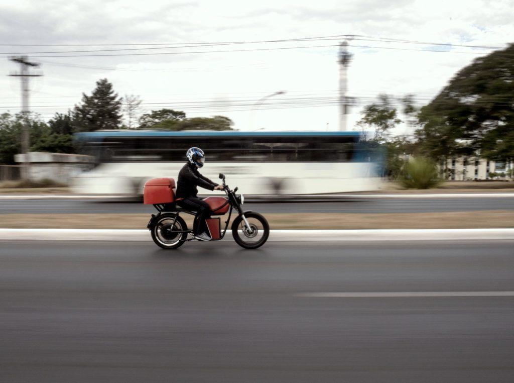 elektryczny motocykl cargo