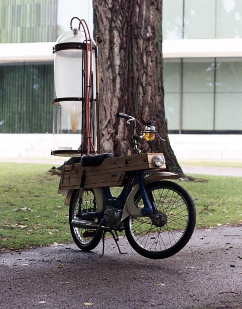 motocykl na metan
