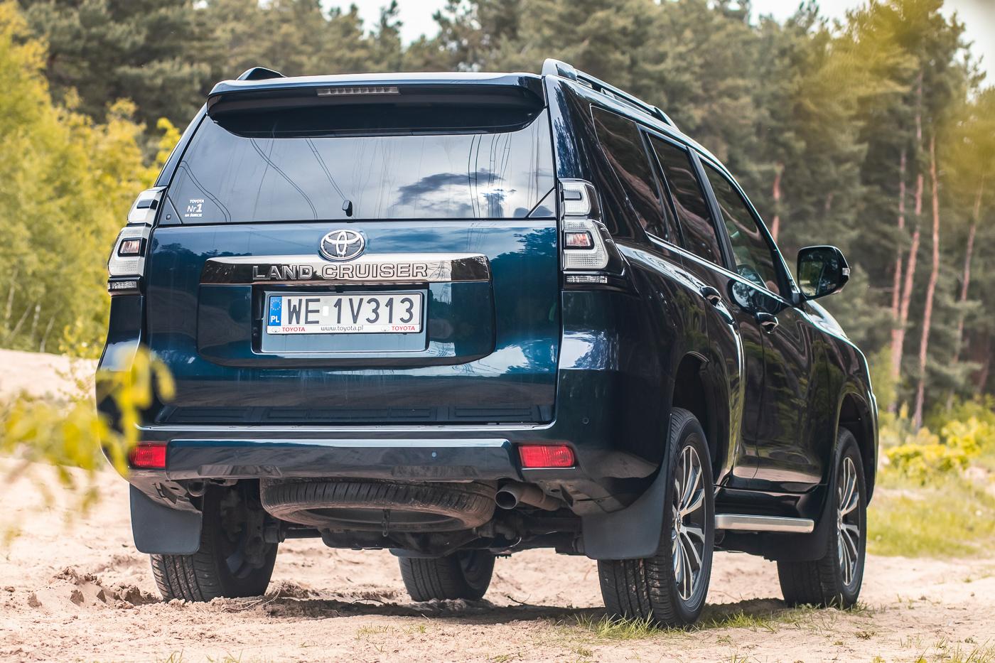 Toyota Land Cruiser po liftingu