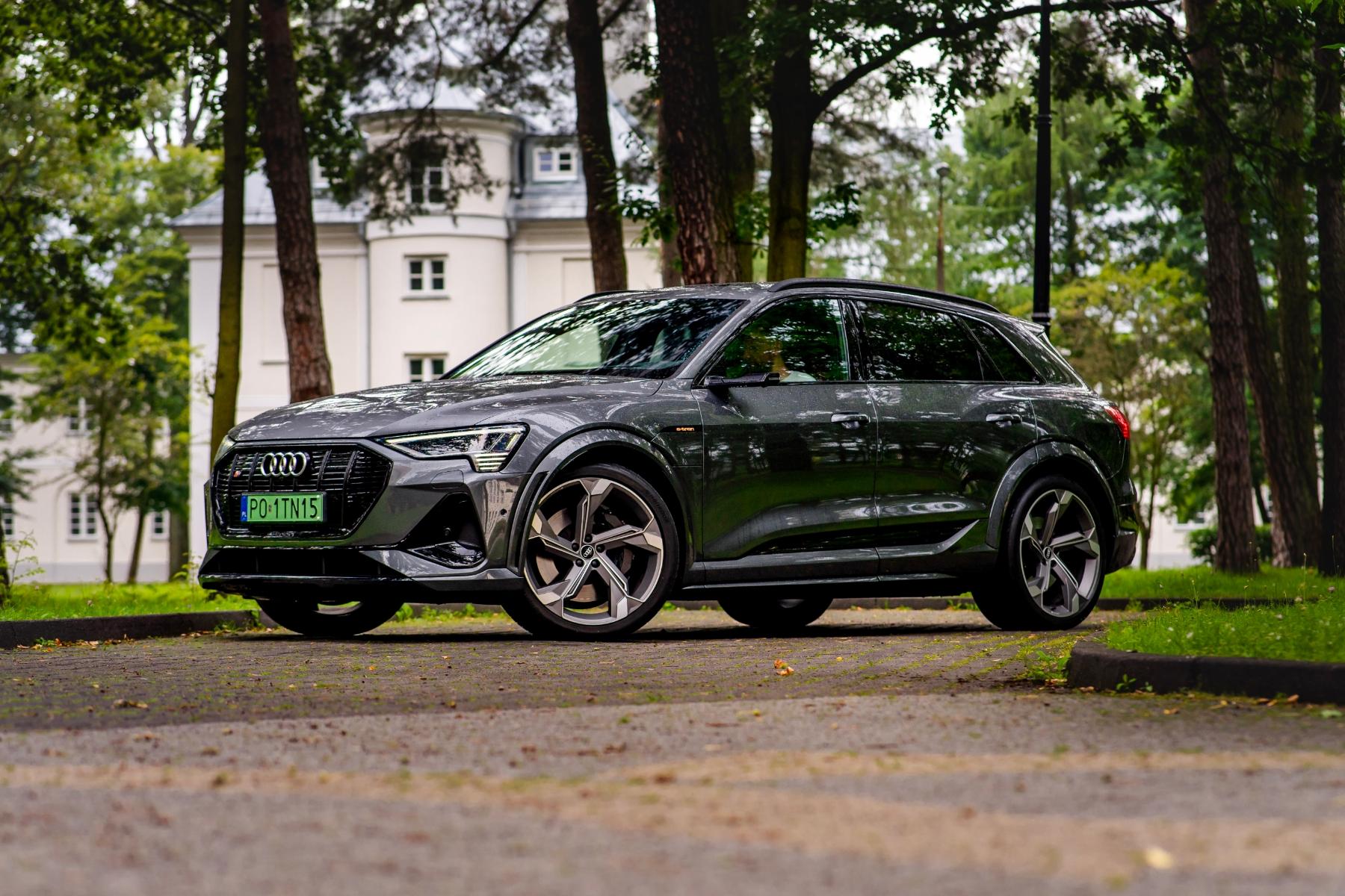 Audi e-tron rdzewieje