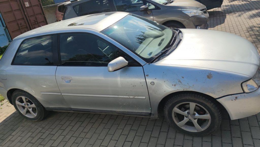 wypadek Audi