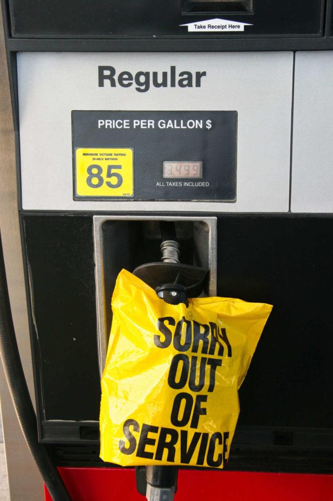 brak paliwa na stacjach